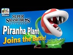 Super Smash Bros Ultimate: Classic Mode - Piranha Plant joins the Battle (Switch Gameplay)
