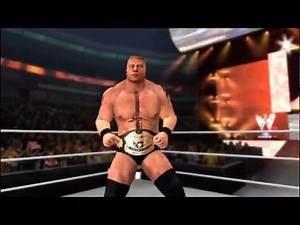 WWE '12: Brock Lesnar & Jeff Hardy vs John Cena & Zack Ryder