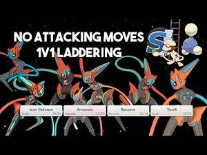 Laddering 1v1 Without Attacking Moves