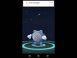 Pokemon GO - Evolution of Poliwag to Poliwhirl (Evolution Gameplay)