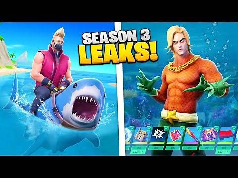 Fortnite Season 3: All Leaks EXPLAINED!
