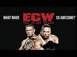 What Made ECW One Night Stand 2006 So Awesome?
