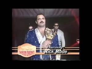 Rick Rude vs Jobber Larry Corey WCW Main Event 1993