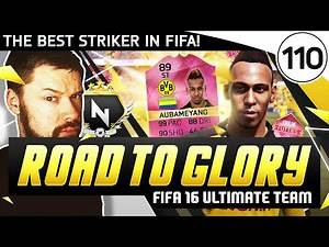 THE BEST STRIKER IN FIFA! - FUT ROAD TO GLORY!! - #110 - FIFA 16 Ultimate Team