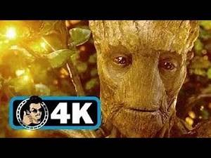 Guardians Of The Galaxy 2014 IMAX CLIP 'We Are Groot' Groot's Sacrifice Scene HD