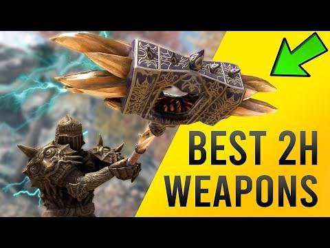 Skyrim BEST TWO HANDED Weapon Location - Nerveshatter!