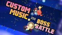 A Boss Battle with Custom Music in Super Mario Maker 2