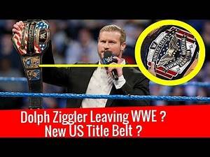 Dolph Ziggler Quitting/Leaving WWE ? New US Title Belt ? New United States Championship Belt ?