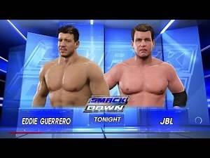 WWE 2K17 - 20 Minute Iron Man Match - Eddie Guerrero Vs JBL