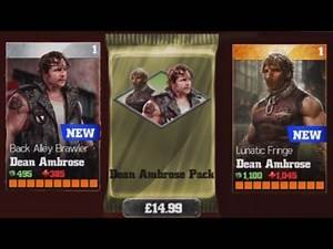 WWE Immortals (iOS/Android) OPENING DEAN AMBROSE PACK Lets play Gameplay Walkthrough