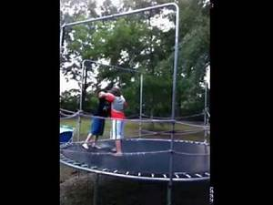 WWE Kids Brock Lesnar vs Bret Hart Submission Match Part 2