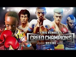 ROCKY BALBOA vs CREED Big Rumble Boxing Challenge