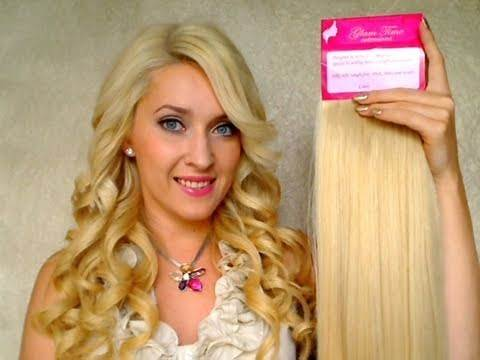 How to apply clip in hair extensions for thin hair tutorial The best Remy human hair review