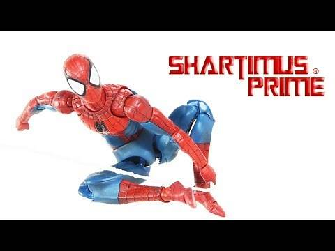 MAFEX Spider-Man Comic Version Marvel 6 Inch Medicom Import Action Figure Review