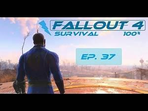 Fallout 4 Survival 100% - Ep. 37 - D.B. Technical High School, Medical Center Metro