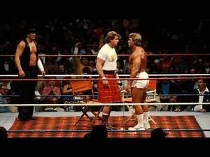 (WWE) WWF Boston Garden Boston, MA January 11th, 1986 Results :: History of New England Wrestling