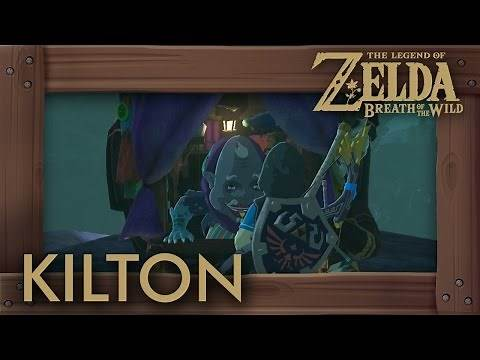 Zelda Breath of the Wild - Kilton Location (How to Get Dark Link Tunic)