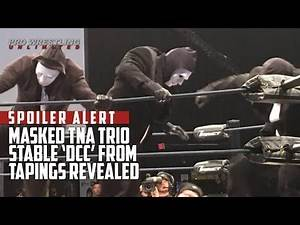 SPOILER ALERT: Masked TNA Trio Stable 'DCC' From Tapings Revealed