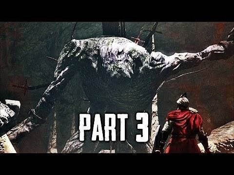 Dark Souls 2 Gameplay Walkthrough Part 3 - The Last Giant Boss (DS2)