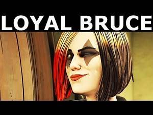 Bruce Loyal To Harley - BATMAN Season 2 The Enemy Within Episode 4: What Ails You (Telltale Series)