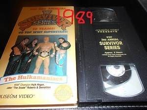 WWE Survivor Series 1989 Flashback (Mixed Up Show!!!!)