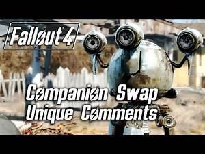 Fallout 4 - Companion Swap Unique Comments (Codsworth)