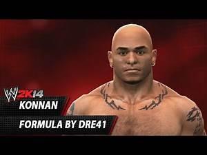 WWE 2K14: Konnan CAW Formula By Dre41