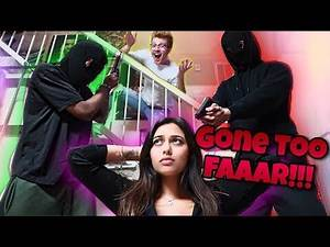 Robbery Prank On Hot Girl *GONE WRONG*