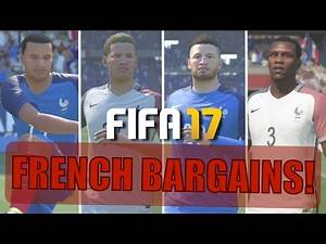 TOP 10 FRENCH BARGAINS | FIFA 17 Career Mode