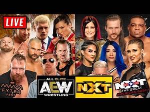 🔴 AEW Fyter Fest 2020 Live Stream & WWE NXT Great American Bash 2020 Live Stream July 1st 2020