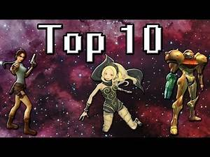 TOP 10 Female Video Game Protagonists