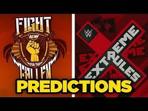 WWE Extreme Rules 2019 & AEW Fight For The Fallen Predictions