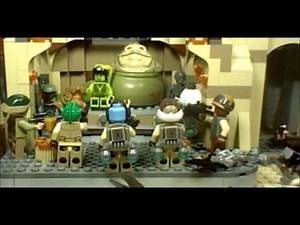 Lego Star Wars Rebels Stop Motion: Attack on Jabba