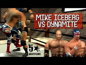 5 Star Wrestling - Mike Iceberg vs Dynamite Pegasus (FULL MATCH) - PS3 Exclusive
