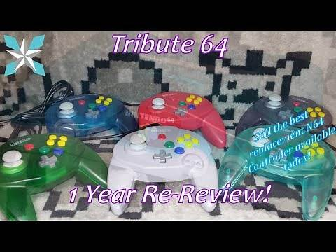 The Retro-Bit Tribute 64 1 Year Re-Review - Still The Best N64 Replacement Controller!