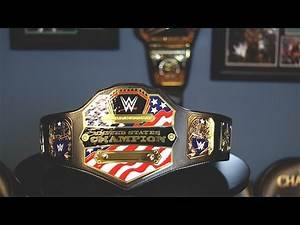 WWE United States Championship Adult Replica Review