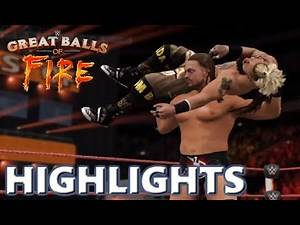 WWE 2K17 BIG CASS VS ENZO AMORE | GREAT BALLS OF FIRE 2017 - PREDICTION HIGHLIGHTS