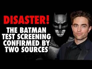 The Batman Test Screening DISASTER | Nolan to the Rescue?