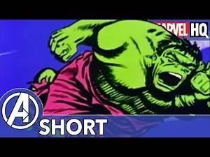 Hulk Hates Goodbyes! | Marvel Mash-Ups: Hulk | Moleman