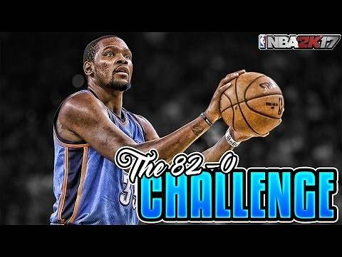 THE BEST TEAM EVER!?!? 82-0 CHALLENGE!! NBA 2K17 MY LEAGUE