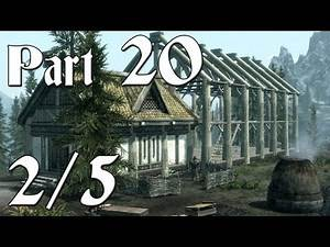 Skyrim Walkthrough - Part 20 - Hearthfire DLC [2/5] (PC Gameplay / Commentary)