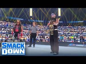 'Intercontinental Champion' Sami Zayn interrupts AJ Styles vs. Jeff Hardy | FRIDAY NIGHT SMACKDOWN