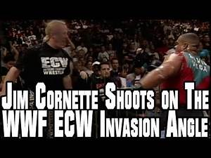 Jim Cornette Shoots on The WWF ECW Invasion Angle In 1996