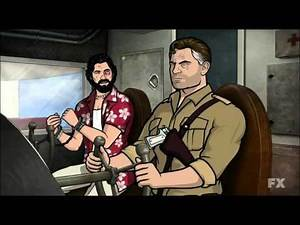 """Archer - """"Heart of Archness"""" - It's a ruse airplane scene"""