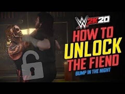 HOW TO UNLOCK THE FIEND (EASY WAY) WWE 2K20 BUMP IN THE NIGHT DLC
