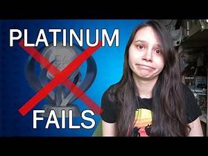 Platinum Trophy Failures - Games I Really Wanted to Plat but Never Did...