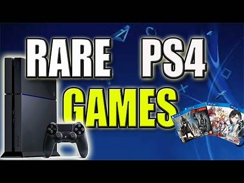 Top 10 Rare PS4 Games | Most Valuable PS4 Games