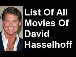 David Hasselhoff Movies & TV Shows List