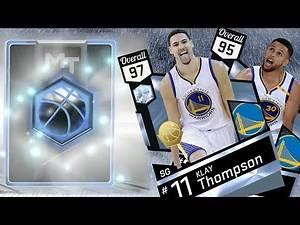 NBA 2K17 My Team - New Diamond Splash Brothers! Curry & Klay Thompson PS4 Pro