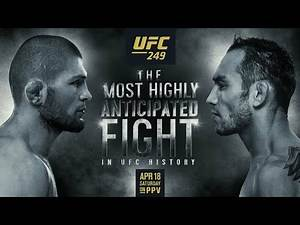 UFC 249: khabib vs Ferguson - The Most Anticipated Fight in UFC History